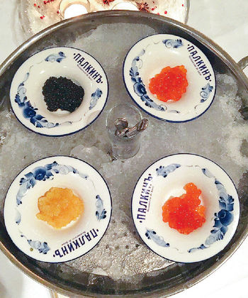 雜錦魚子醬
