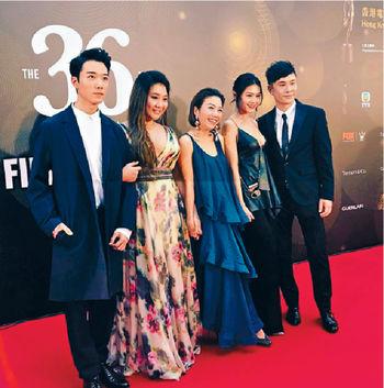 ■《29+1》早前全員出席香港金像獎。