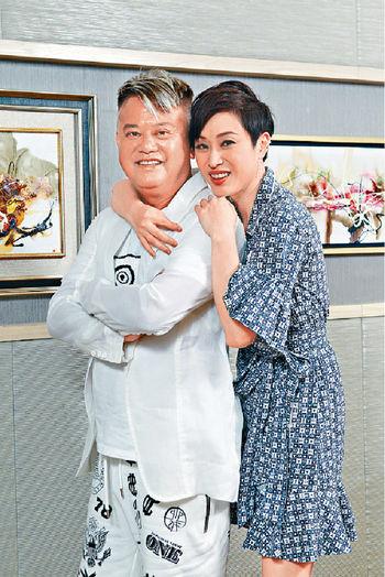 ■叻哥和法蓉其實早在97年電影《精裝難兄難弟》演過情侶。