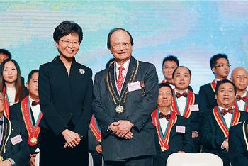 ■阿一鮑魚創辦人、世界御廚楊貫一前年獲業界頒發終身成就獎,以表揚他為飲食界作出的貢獻。
