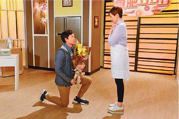 ■祖藍爆劇中安仔會再跟盈盈分手,「大家會分唔到係咪睇緊第一輯。」