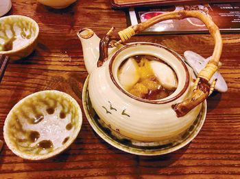 松茸茶壺湯