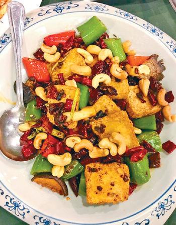 乾鍋百頁豆腐