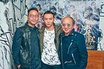 ■前後經歷約3年時間炮製的《狂獸》贏盡口碑,張晉(中)和導演李子俊(左)付出不少。