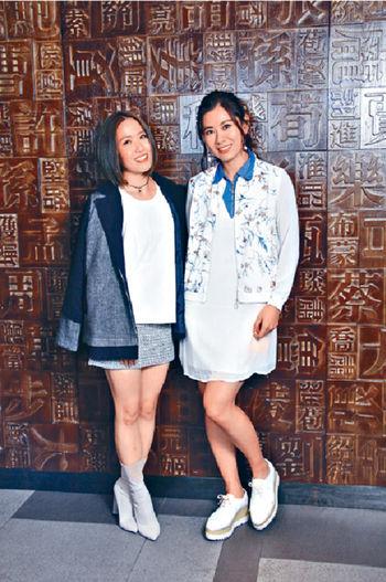 ■Robynn(右)是已故中共開國元老葉劍英孫女,她和Kendy的音樂造詣好出眾。