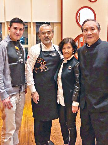 在「六化郎」跟Chef Mundidasa合照