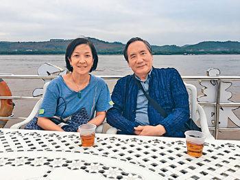 在賀江遊船河食晚飯