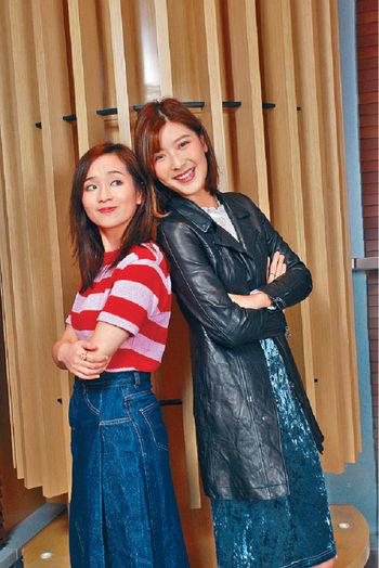 ■余香凝(右)和梁雍婷(左)努力向自己的電影夢進發。